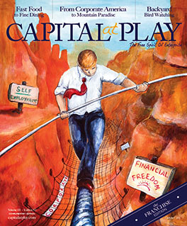Capital at Play Magazine October 2013 Cover