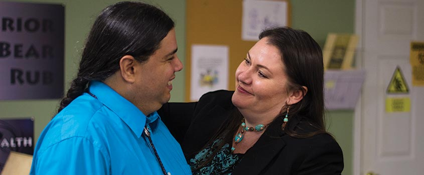 Joseph and Laralyn Riverwind of Native Touch