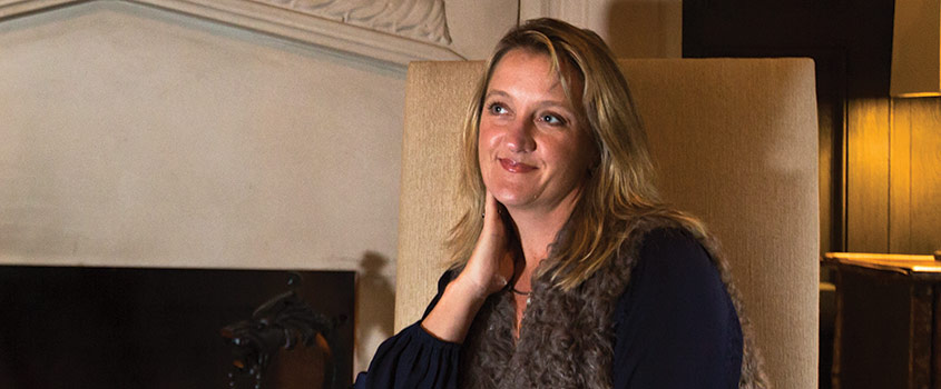 Angela Newnam, founder and owner of Knock out!